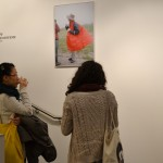 The exhibition is filled with a variety of atmosphere in the photographs.