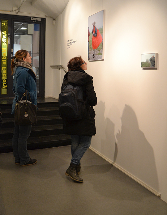 The exhibition is ongoing until March 28th.
